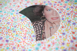 Vintage Contemporary Collage On  LP Cover Art - Naomi Vona Art