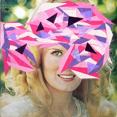 Analogue Collage On LP Cover - Naomi Vona Art