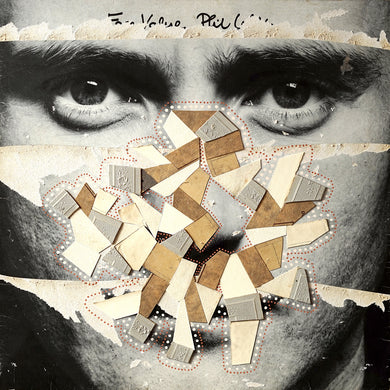 Dada Style Collage Art On LP Cover - Naomi Vona Art