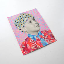 Load image into Gallery viewer, Collage On Vintage Boy Photography With Tie - Naomi Vona Art