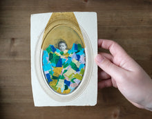 Load image into Gallery viewer, Vintage Baby Boy Portrait Altered By Hand - Naomi Vona Art