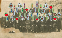 Load image into Gallery viewer, Vintage Retro Group Shot Altered With Stickers - Naomi Vona Art