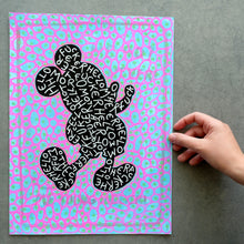 Load image into Gallery viewer, Inspired Mickey Mouse Style Illustration Art - Naomi Vona Art