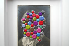 Load image into Gallery viewer, Customised Framed Retro Collage Artwork For Sale - Naomi Vona Art