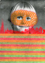 Load image into Gallery viewer, Retro Boy Portrait Art Collage - Naomi Vona Art