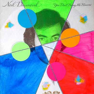 Neon Collage Art On Vintage LP Cover - Naomi Vona Art