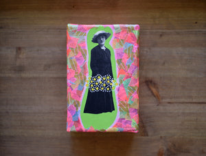Vintage Woman Photo Transfer On Canvas - Naomi Vona Art