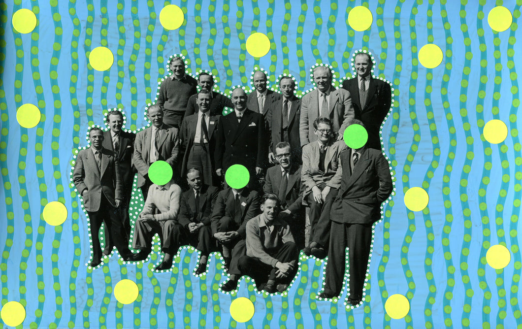 Dada Group Of People Art Collage - Naomi Vona Art