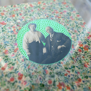 Vintage Photography Old Couple Collage Art - Naomi Vona Art