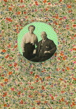 Load image into Gallery viewer, Vintage Photography Old Couple Collage Art - Naomi Vona Art