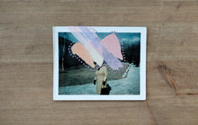Load image into Gallery viewer, Altered Vintage Polaroid Portrait Photo - Naomi Vona Art