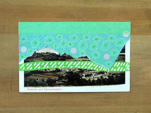 Vintage Countryside Landscape Art Collage - Naomi Vona Art