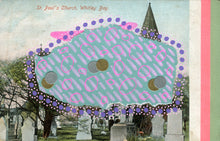 Load image into Gallery viewer, Whitley Bay Vintage Postcard Art - Naomi Vona Art