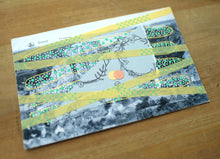 Load image into Gallery viewer, Vintage Dinant Panorama Postcard Art Collage Altered By Hand - Naomi Vona Art
