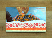 Load image into Gallery viewer, Vintage Volcan Vesuvio Postcard Mixed Media Art Collage - Naomi Vona Art