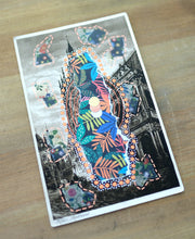 Load image into Gallery viewer, Vintage Cologne Postcard Art Collage In Gothic Style - Naomi Vona Art
