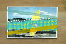 Load image into Gallery viewer, Vintage Burgh Island Mixed Media Art Collage - Naomi Vona Art