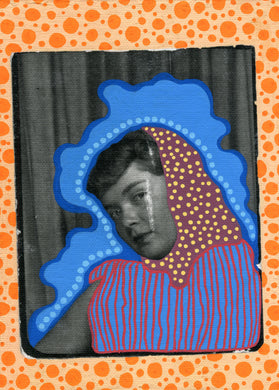 Vintage Photo Booth Art On Canvas - Naomi Vona Art