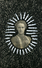 Load image into Gallery viewer, Victorian Style Altered Vintage Woman Portrait Art - Naomi Vona Art