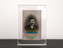 Load image into Gallery viewer, Vintage Man With Moustache Photography Altered By Hand - Naomi Vona Art