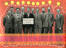 Load image into Gallery viewer, Vintage Group Of Smiling Men Portrait Art Collage - Naomi Vona Art