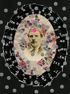 Mixed Media Collage Art Of Old Photographs - Naomi Vona Art