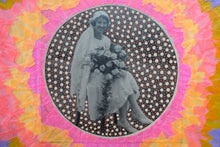 Load image into Gallery viewer, Mixed Media Vintage Wedding Art Collage - Naomi Vona Art