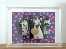 Load image into Gallery viewer, Vintage Wedding Group Portrait Art Collage - Naomi Vona Art
