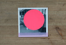 Load image into Gallery viewer, Neon Pink Abstract Collage On Vintage Photo - Naomi Vona Art