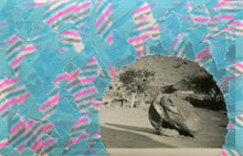 Load image into Gallery viewer, Collage Art Landscape Realised With Tape - Naomi Vona Art