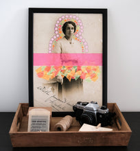 Load image into Gallery viewer, Neon Surreal Fine Art Print, Giclee Collage Reproduction - Naomi Vona Art