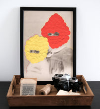 Load image into Gallery viewer, Surreal Dada Fine Art Print, Poster Portrait Collage - Naomi Vona Art