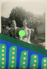 Load image into Gallery viewer, Happy Couple Art Collage On Young Smiling People Portrait - Naomi Vona Art