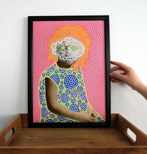 Load image into Gallery viewer, Retro Original Wall Art Gift Idea, Colorful Dotty Art Print - Naomi Vona Art