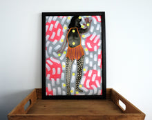 Load image into Gallery viewer, Female Nude Wall Art Print Idea - Naomi Vona Art