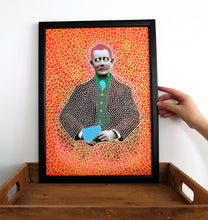 Load image into Gallery viewer, Contemporary Collage, Wall Art Print Of Retro Gentleman - Naomi Vona Art
