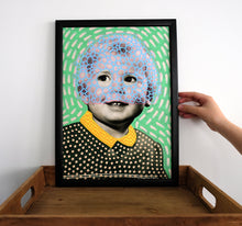 Load image into Gallery viewer, Vintage Young Boy Portrait Photo Art Print - Naomi Vona Art