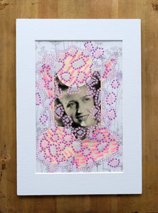 Happy Art Contemporary Collage - Naomi Vona Art