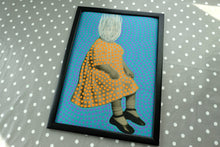 Load image into Gallery viewer, Creepy Dotty Fine Art Print Of A Vintage Baby Portrait - Naomi Vona Art