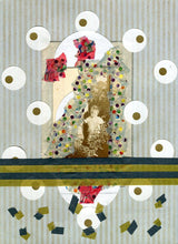 Load image into Gallery viewer, Contemporary Collage, Vintage Paper Ephemera - Naomi Vona Art