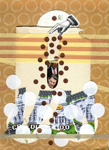 Load image into Gallery viewer, Political Art, Original Mixed Media Collage - Naomi Vona Art