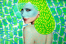 Load image into Gallery viewer, Contemporary Art Print Of Manipulated Fashion Portrait - Naomi Vona Art