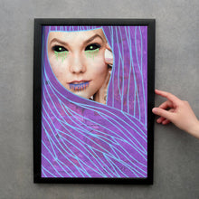Load image into Gallery viewer, Original Fine Art Print, Vampire Themed Illustration - Naomi Vona Art