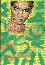 Load image into Gallery viewer, Green And Yellow Fashion Fine Art Photo, Altered Fashion Print - Naomi Vona Art