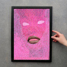 Charger l'image dans la galerie, Neon Pink Customisable Made To Order Giclee Fine Art Print - Naomi Vona Art