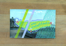 Load image into Gallery viewer, Mixed Media Collage On Retro Postcard Of Brighton - Naomi Vona Art