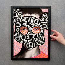 Load image into Gallery viewer, Woman Portrait Art Print - Naomi Vona Art