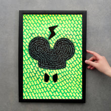 Load image into Gallery viewer, Neon Wall Art Print - Naomi Vona Art