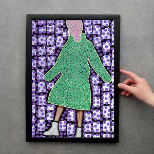 Weird Fashion Fine Art Print Made To Order - Naomi Vona Art