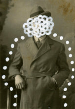 Load image into Gallery viewer, Black And White Tiny Retro Photography Collage Art - Naomi Vona Art